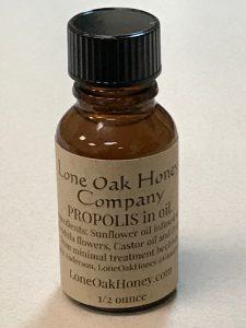 Propolis in oil